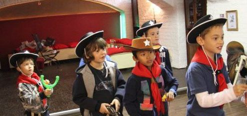 Kinderkostume Cowboy Indianer Faschingsideen Kinderparty At